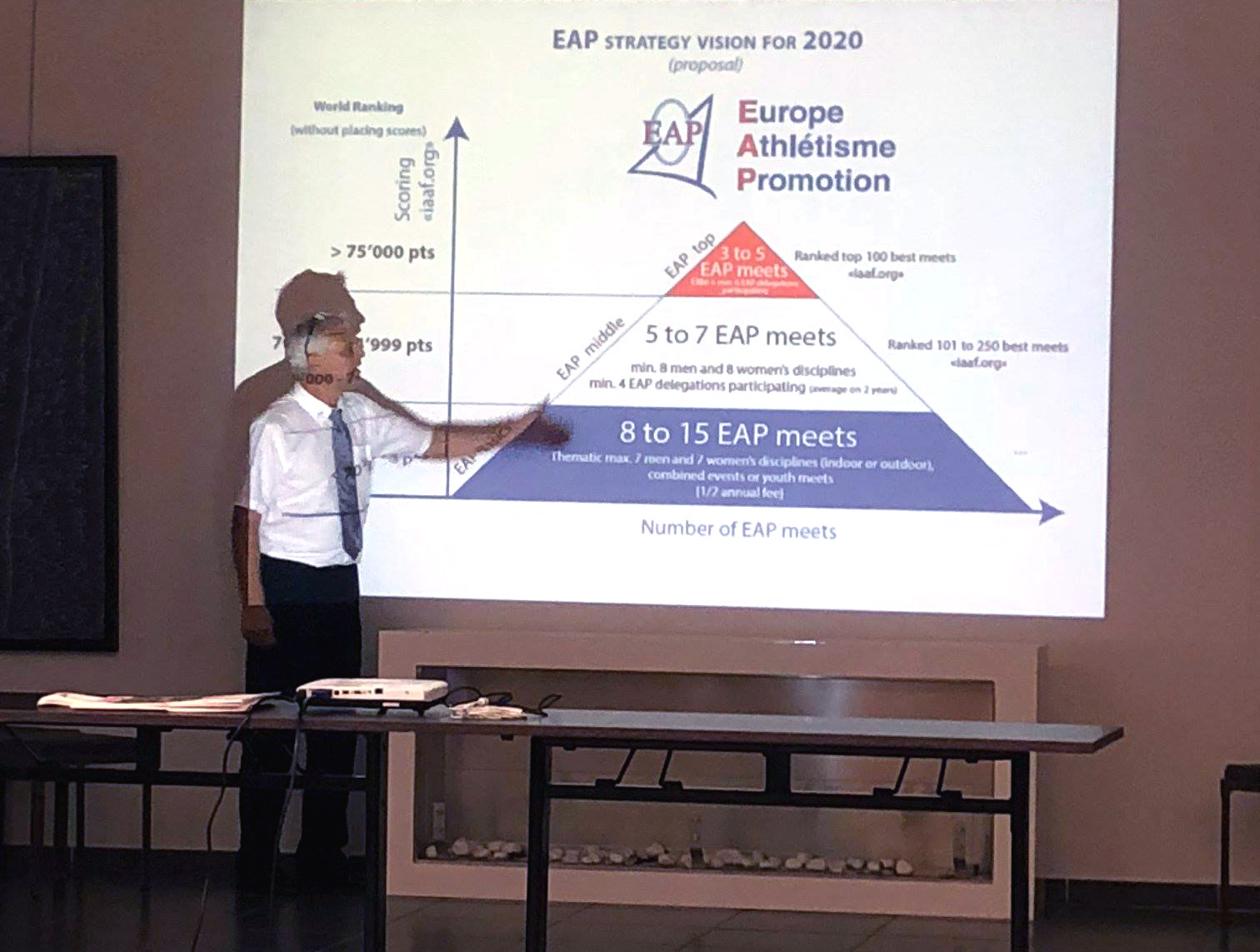 Presentation of the project in Valence, 2018