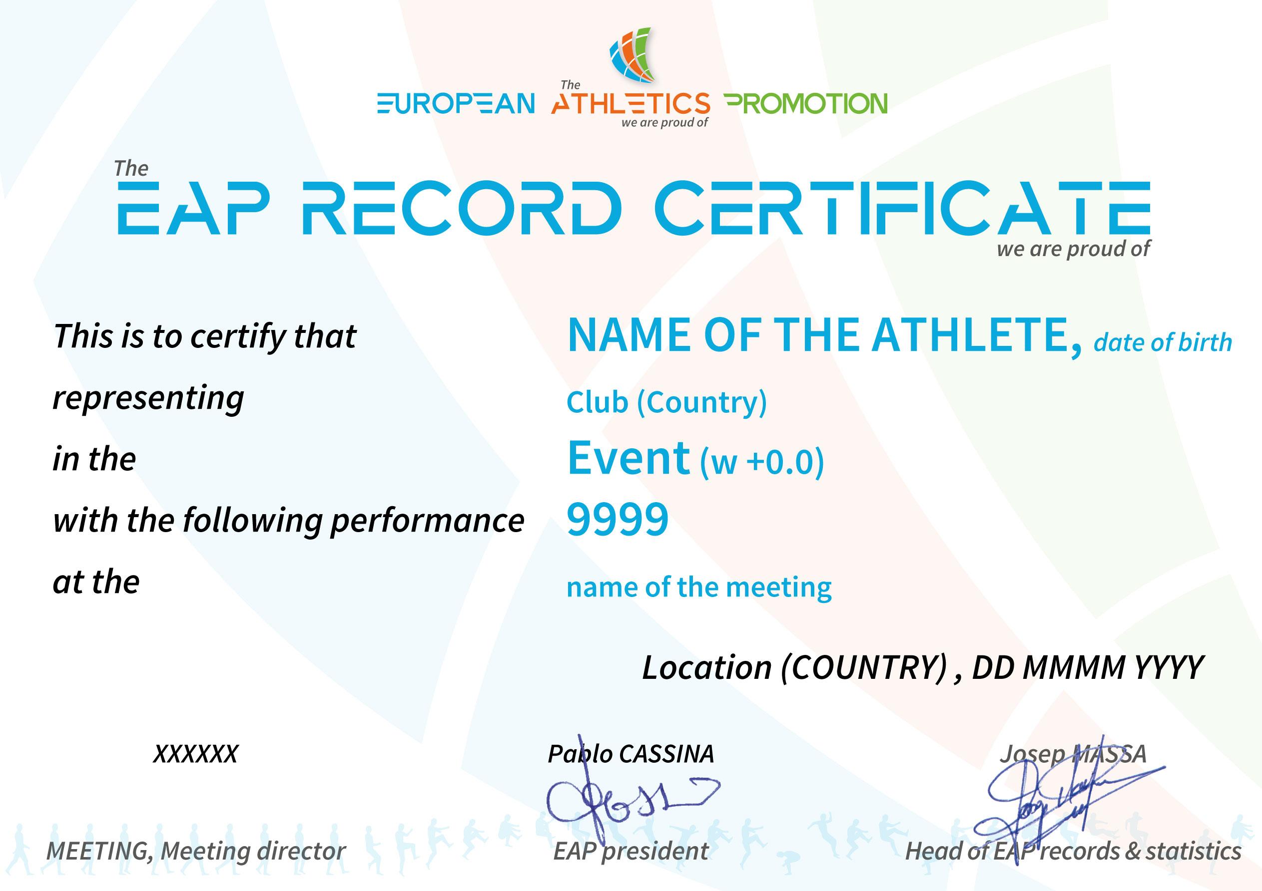 EAP Absolute record - JPG version
